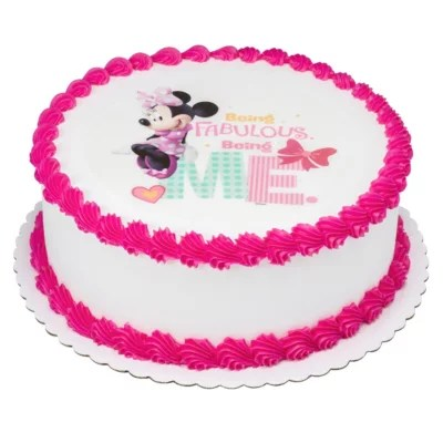 Member S Mark 10 Quot Minnie Mouse Round Cake Sam S Club