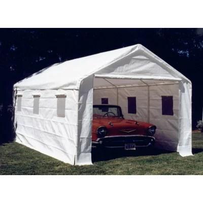 10 8 X 20 Enclosed Canopy With Sidewalls Sams Club