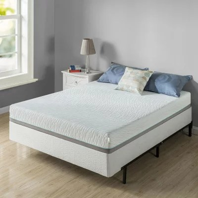 zinus night therapy memory foam 8