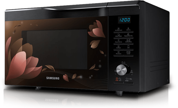 samsung my recipes microwave oven