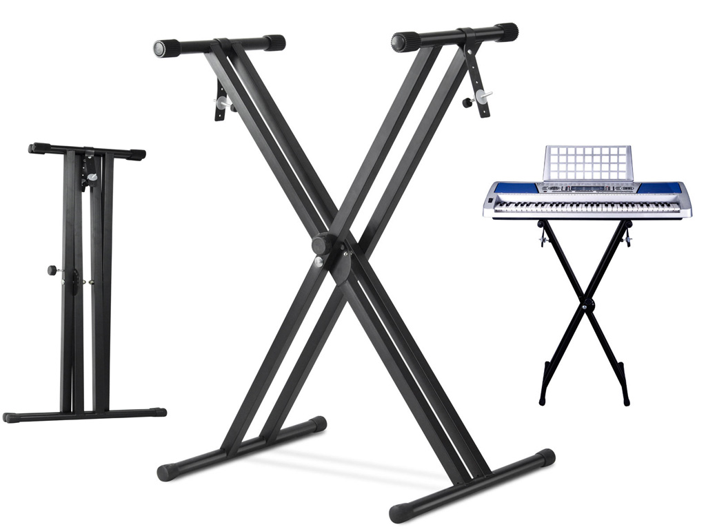 Heavy Duty Foldable Orchestral Sheet Music Stand Holder Adjustable Tripod Base