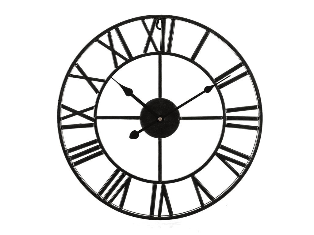 Livivo Roman Wall Clock Traditional Vintage Metal Roman