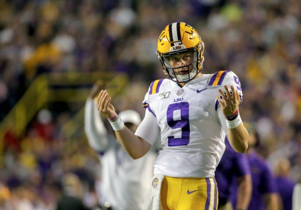 Joe Burrow Breaks LSU Single-Season Touchdown Record