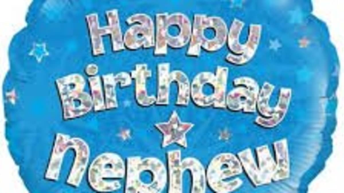 42 Happy Birthday Wishes For A Nephew Holidappy