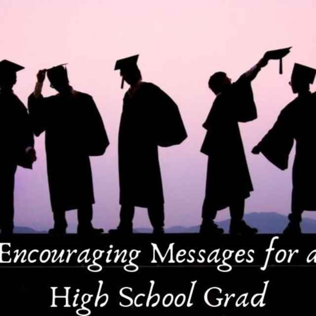High School Graduation Wishes and Quotes to Write in a Card