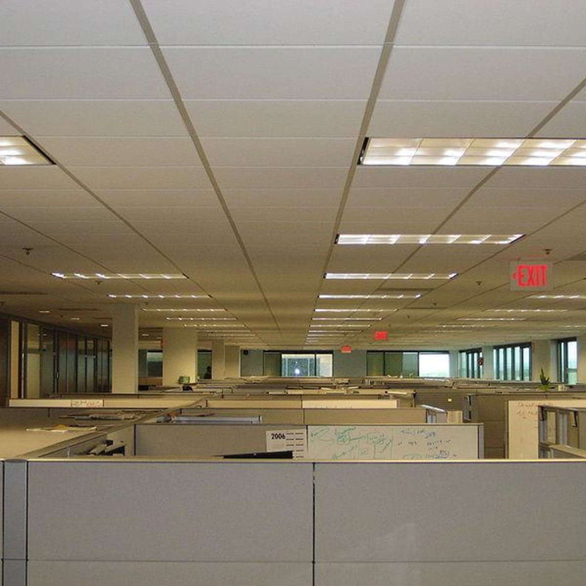 workplace and office lighting standards