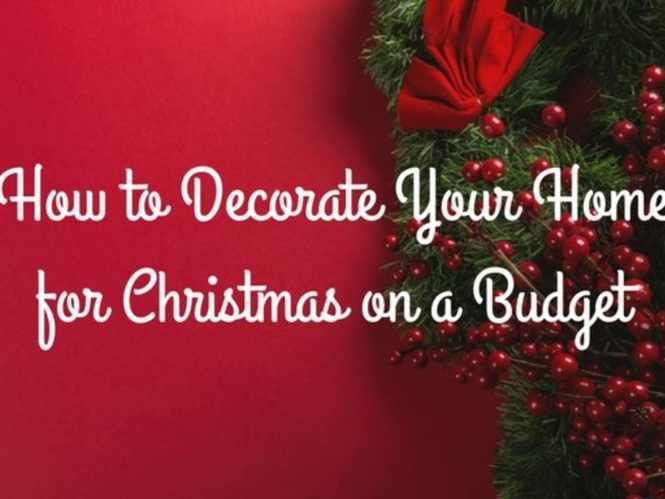 For Christmas On A Budget