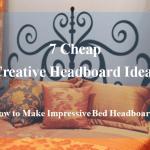 How To Make Cheap Headboards Diy Dengarden Home And Garden