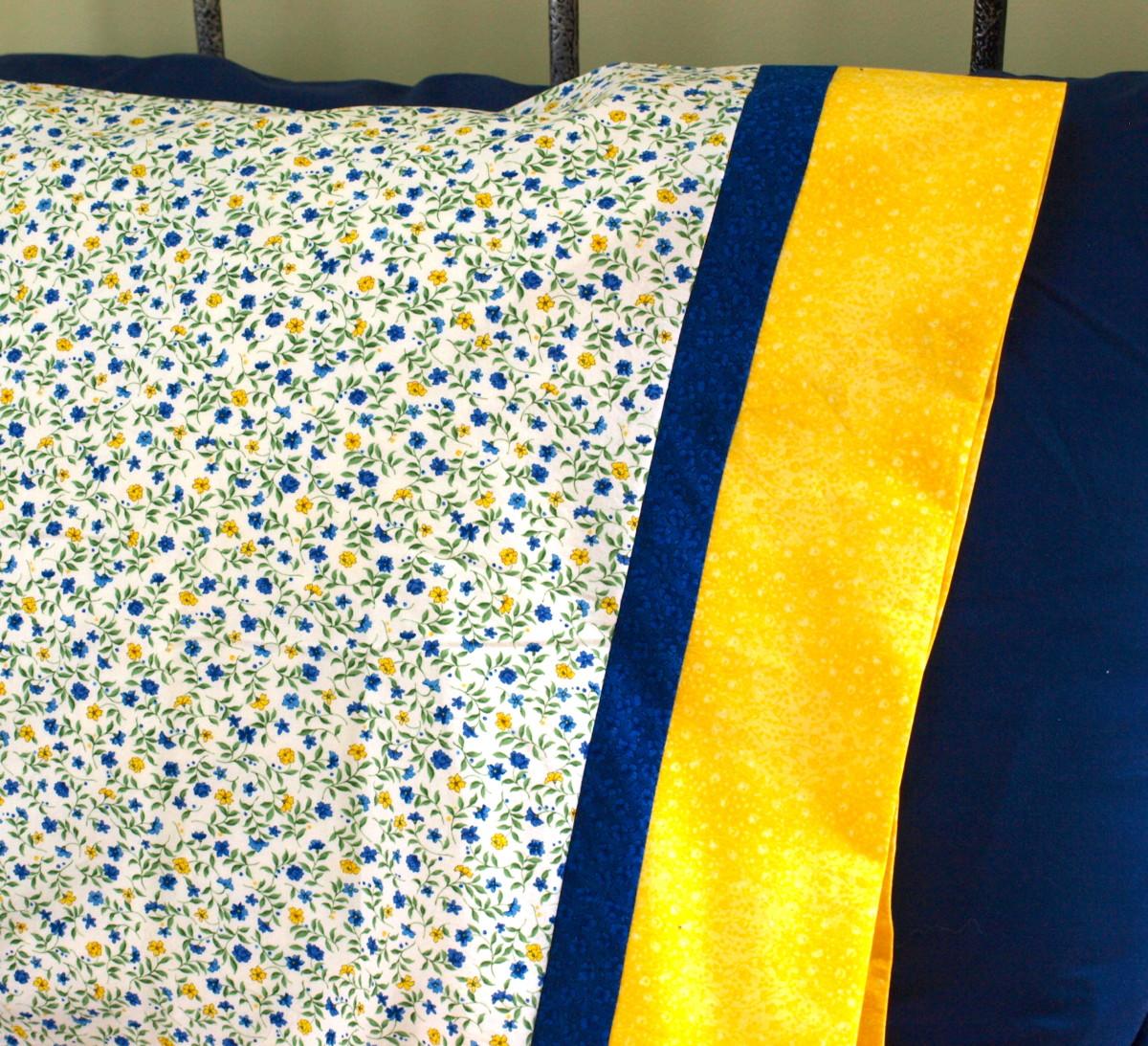 how to make a pillowcase feltmagnet