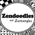 How To Create A Great Zendoodle Or Zentangle Pattern Feltmagnet Crafts