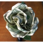 How To Make A Money Rose Feltmagnet Crafts