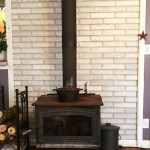 Diy How To Paint A Brick Fireplace Dengarden Home And Garden