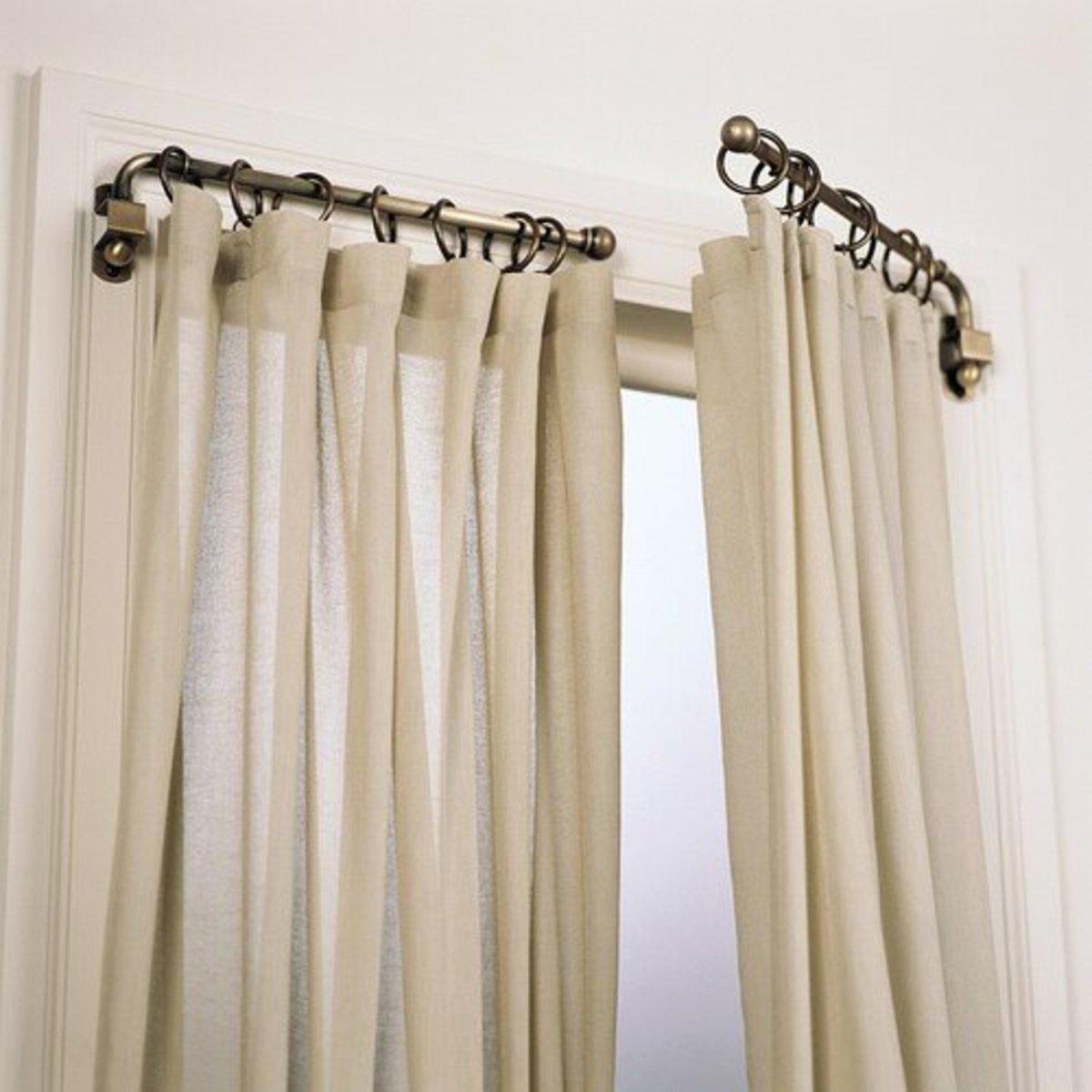 Understanding Different Curtain Rod Styles Dengarden Home And Garden