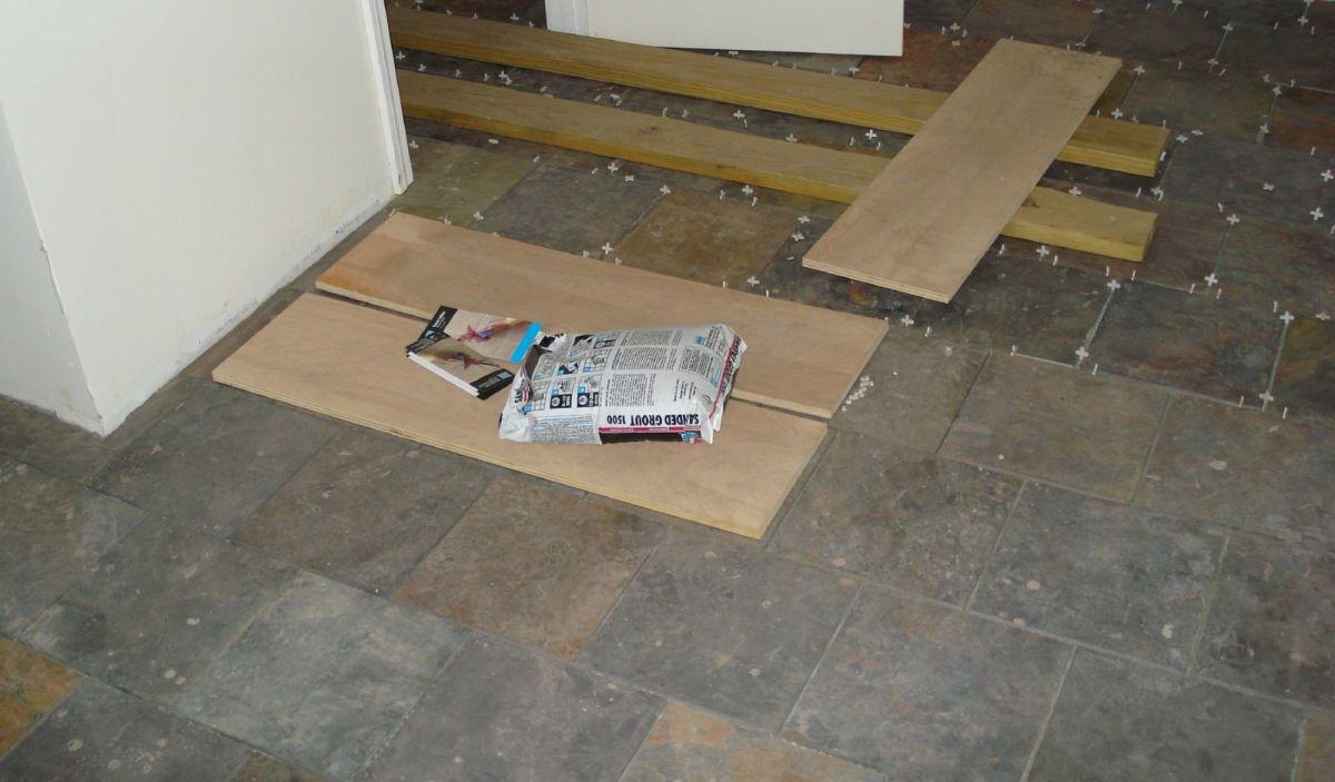 seal and maintain a slate tile floor