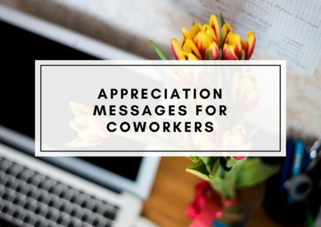 Thank-You Notes and Appreciation Messages for a Colleague