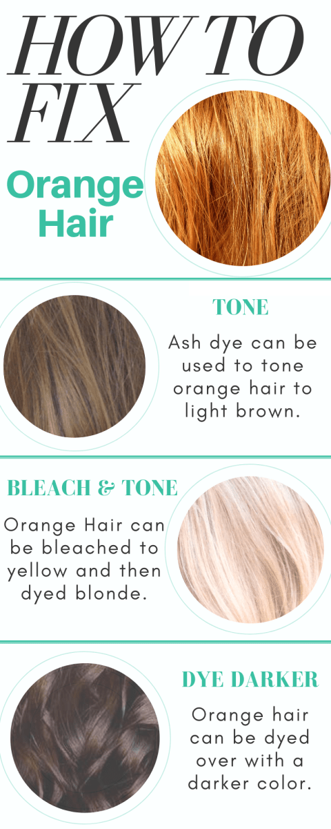 Color Correction How To Fix Orange Hair Bellatory Fashion And Beauty