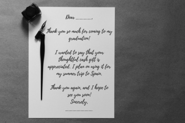 Top 25 Graduation Thank You Card Messages - Holidappy