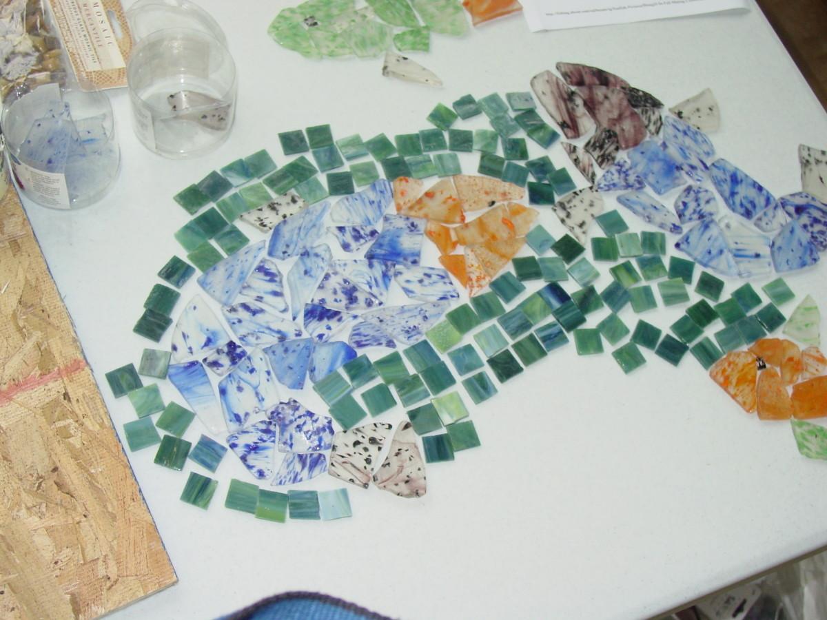 how to make ceramic tile mosaics