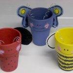 57 Inspiring Clay Pot Crafts Feltmagnet Crafts