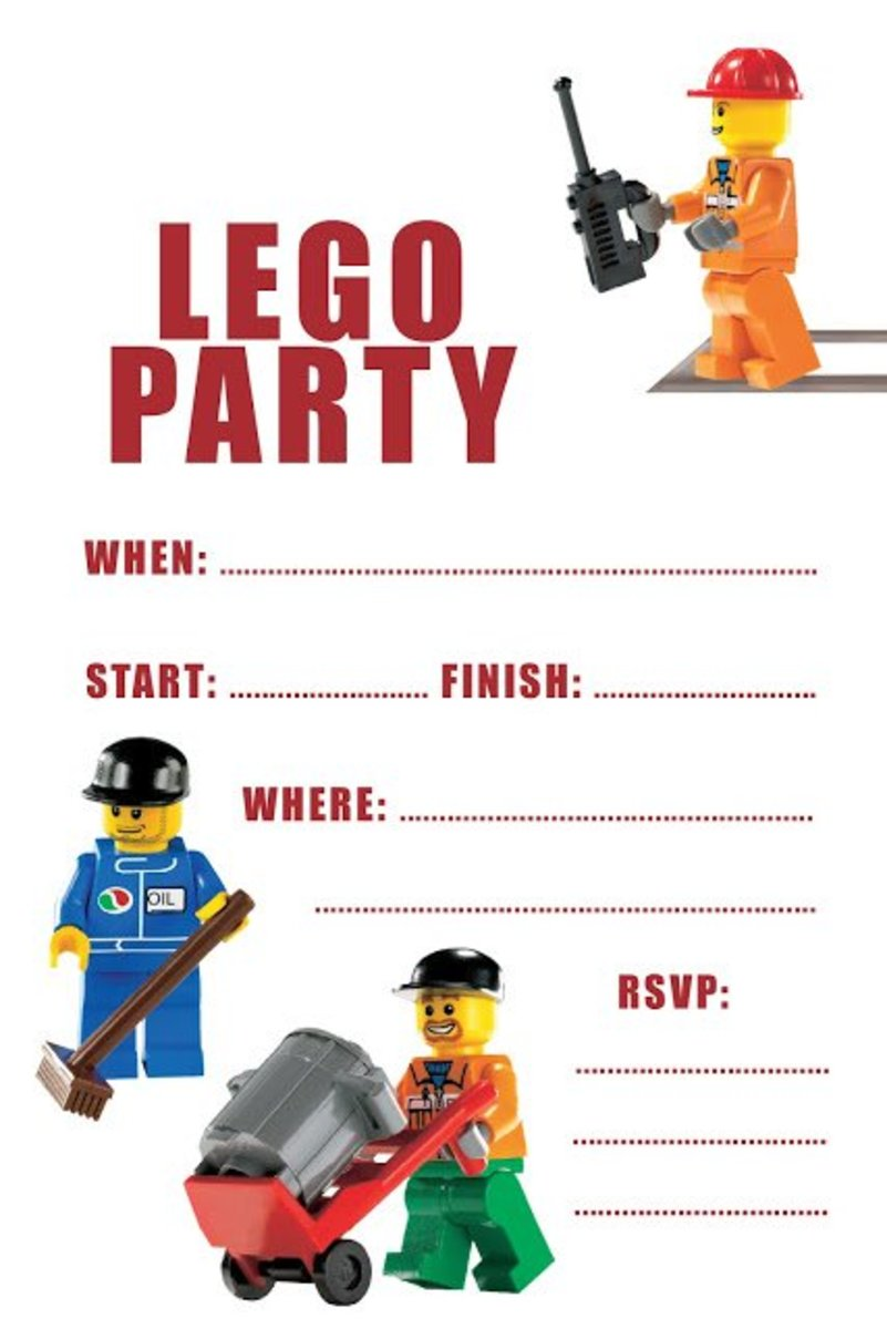lego birthday party ideas free