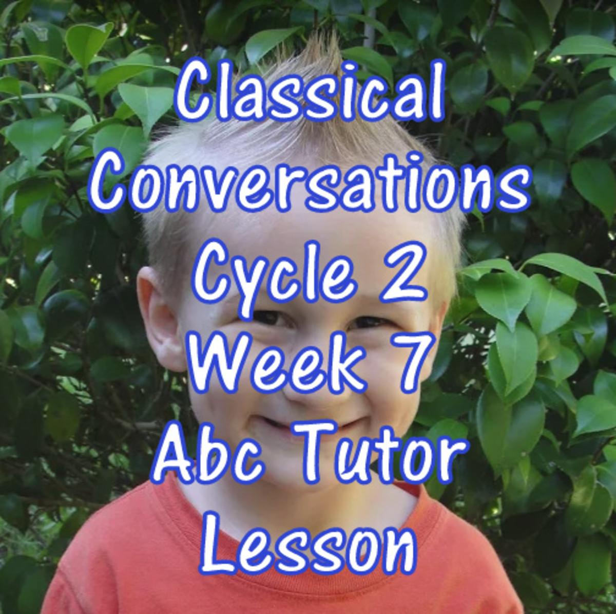 Cc Cycle 2 Week 7 Lesson For Abecedarian Tutors