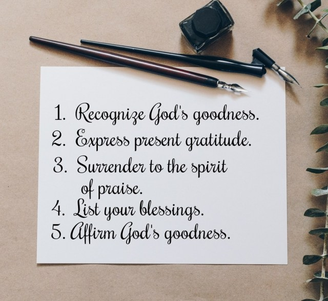 How to Write a Short, Personal Psalm of Thanksgiving - Holidappy