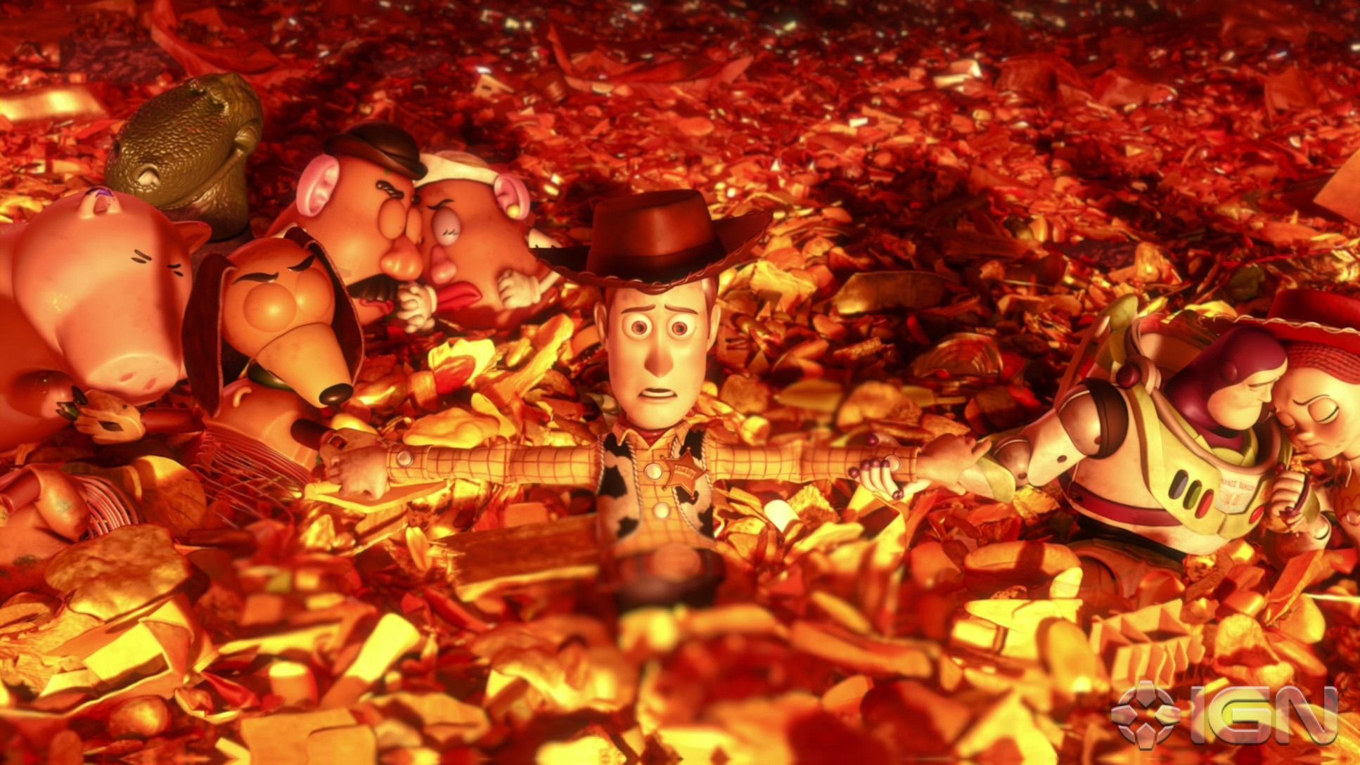 Image result for toy story 3 incinerator