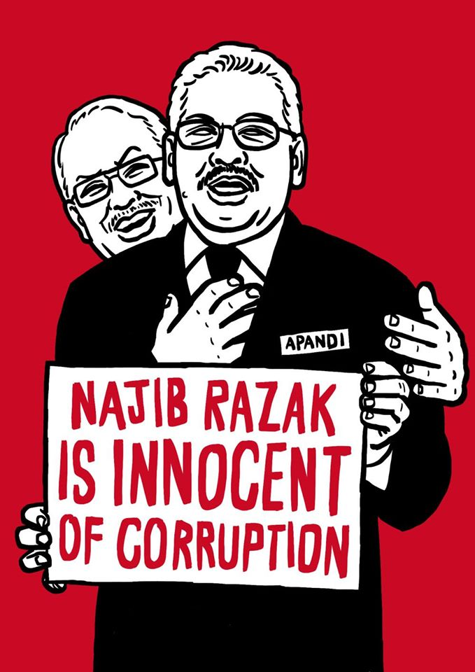 Image result for The Corrupt Najib Razak
