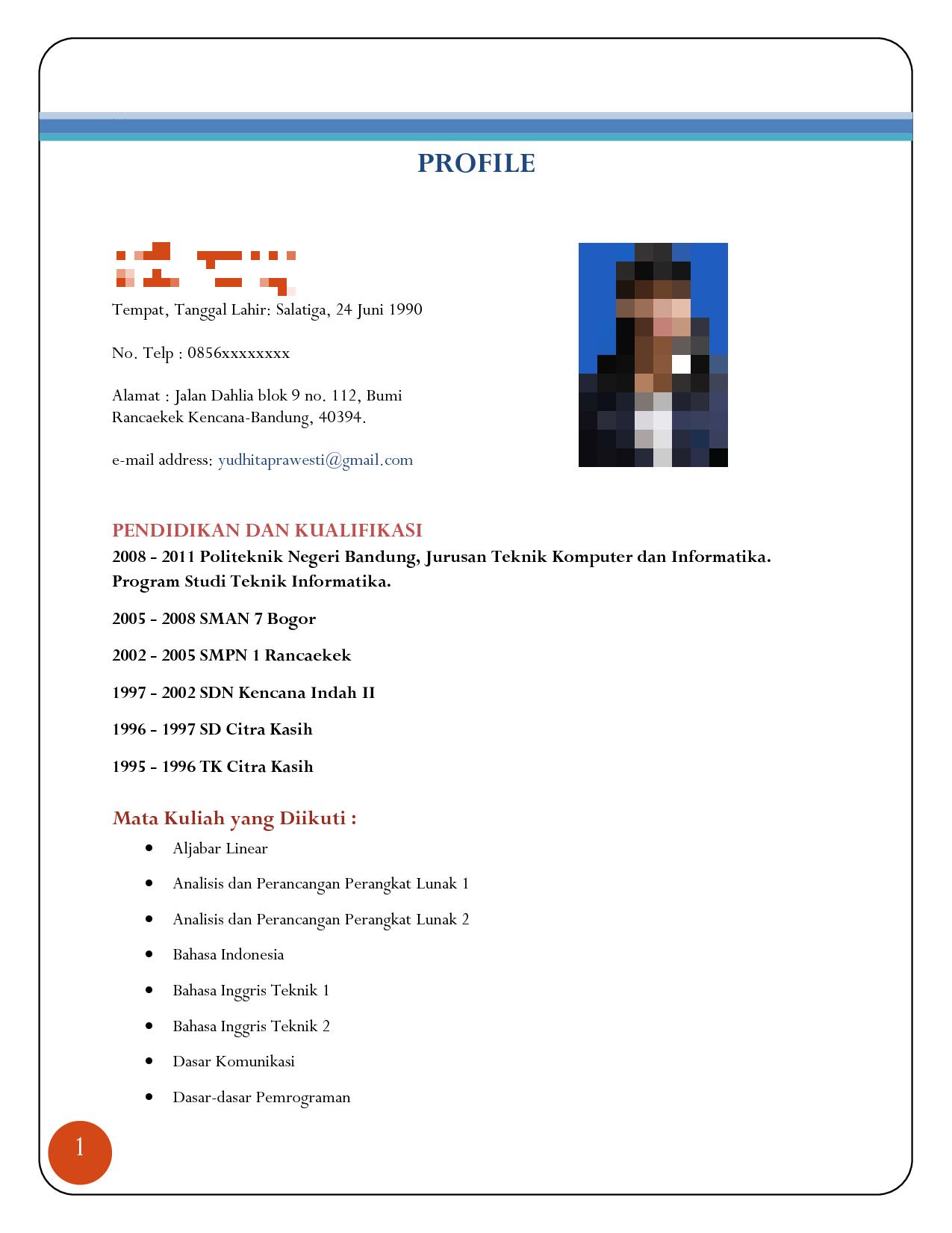 7 Kesalahan Menulis CV Yang Paling Sering Membuat Lamaran