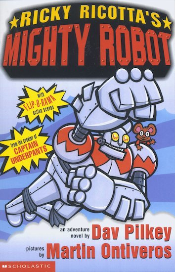 Image result for mighty robot rick ricotta