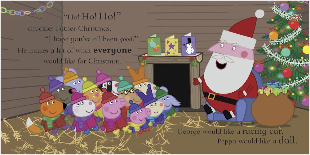 Peppa Pig Peppas Christmas Wish Scholastic Kids Club