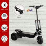 Electric Scooter Off Road Triple Motor 3 1200w 60v