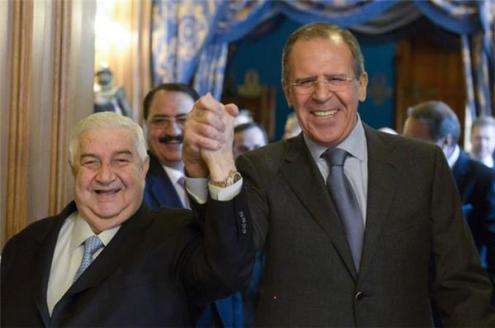 SYRPER EXCLUSIVE: WHAT LAVROV IS TELLING MU'ALLEM; WHAT MU'ALLEM IS TELLING PUTIN AND LAVROV 1