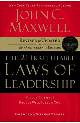 picture of The 21 Irrefutable Laws of Leadership book