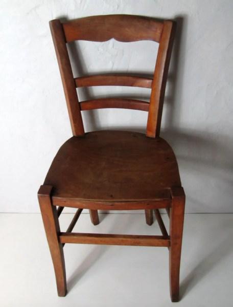 chaise en bois ancienne selency