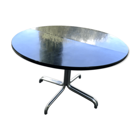 table ronde a rallonges thonet selency