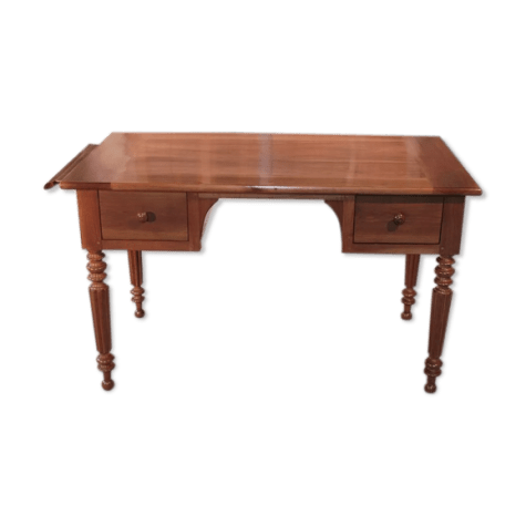 table bureau louis philippe en merisier xixeme
