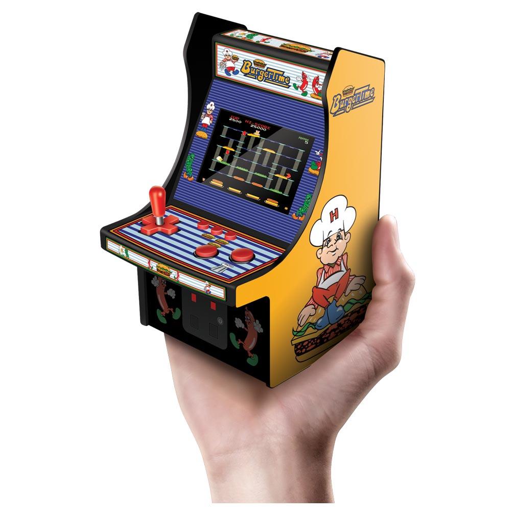 MY ARCADE Data East BurgerTime Micro Arcade Machine Portable Handheld Video Game 845620032037 EBay