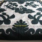 Hawaiian Quilt Full Twin Bedspread 100 Hand Quilted Appliqued Hibiscus Turtles Ebay
