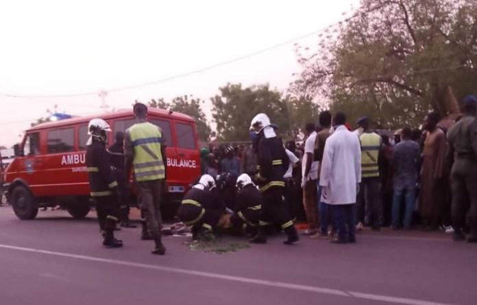 Urgent- [Photos] Kaffrine : Un accident fait plusieurs morts dont l'adjoint au maire de…
