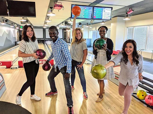 Googlers Go Bowling