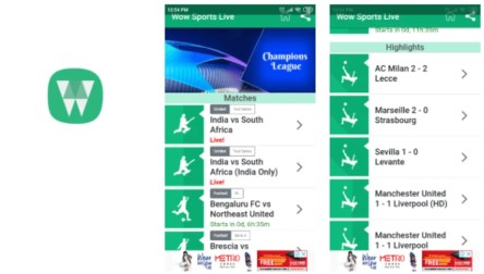 Wow Sports Live APK for Android - Download