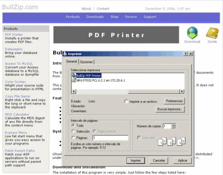BullZip PDF Printer Expert 11.9.0.2735 2019 Download