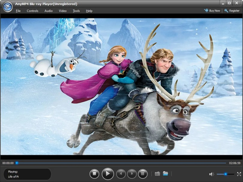 AnyMP4 Blu-ray Player - Download
