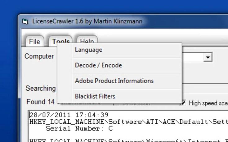 LicenseCrawler 4.0 Free Code Plus Activation