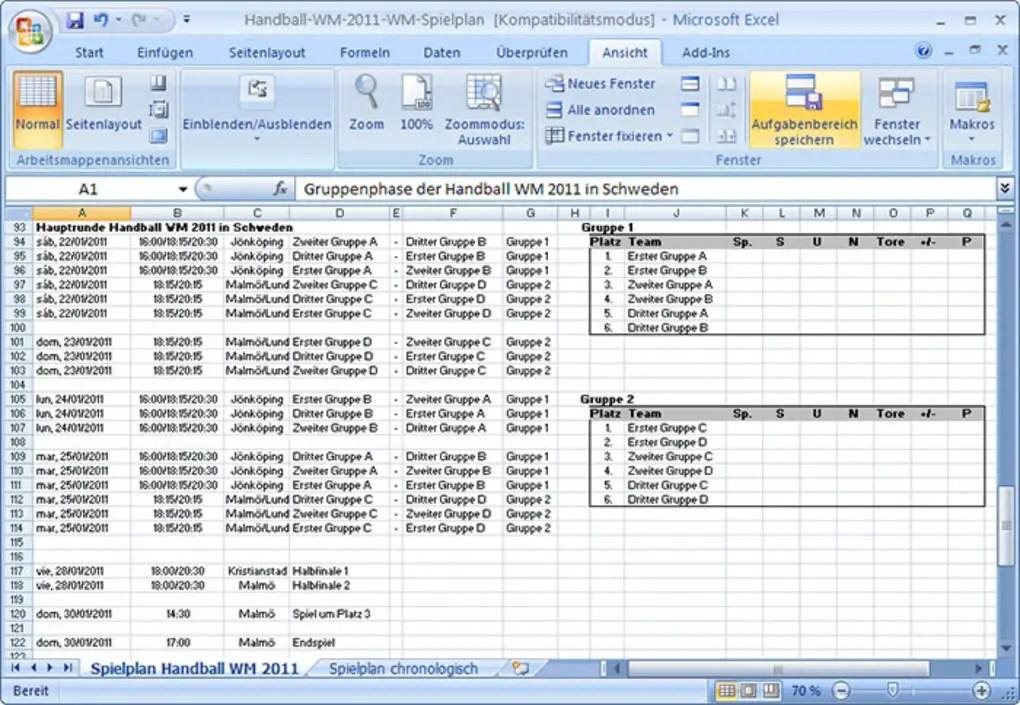 handball wm 2011 spielplan download