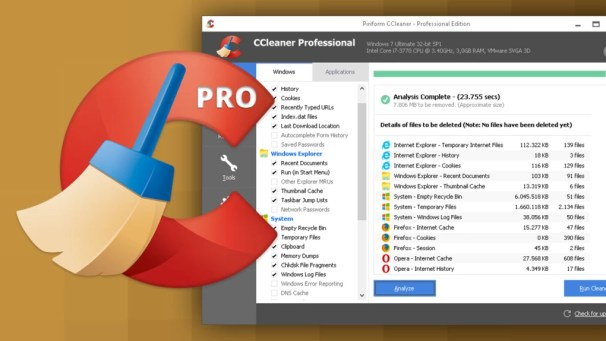 CCleaner pro 5.54.7