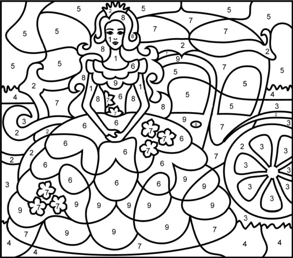 colornumbers-princesses - ダウンロード