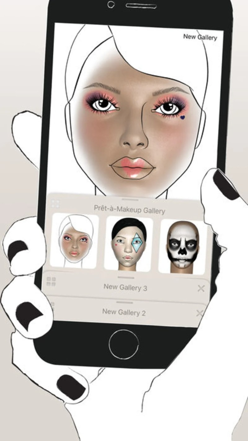 Prêt à Makeup For Iphone