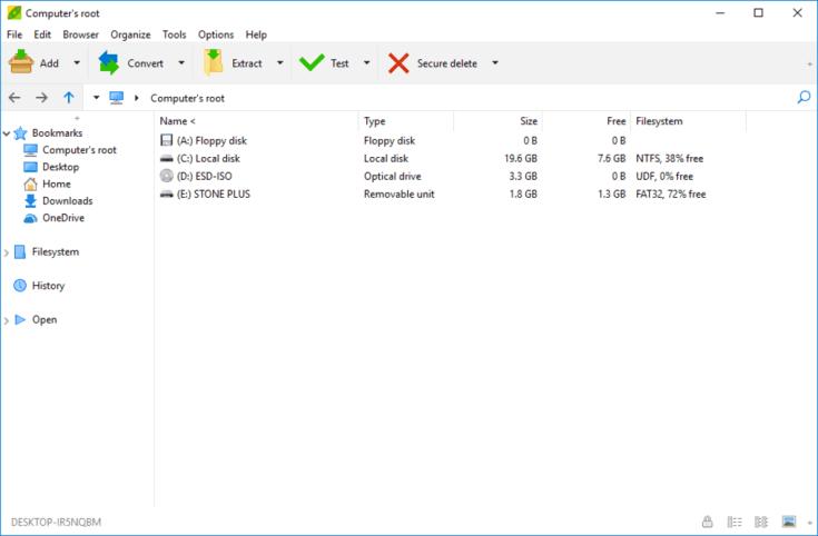 PeaZip 7.0.0 File Download 2019
